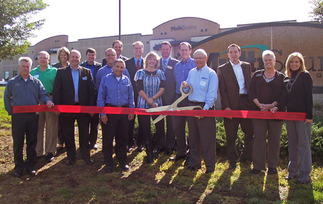 Ribbon Cutting Ceremony at Ramsey Facility